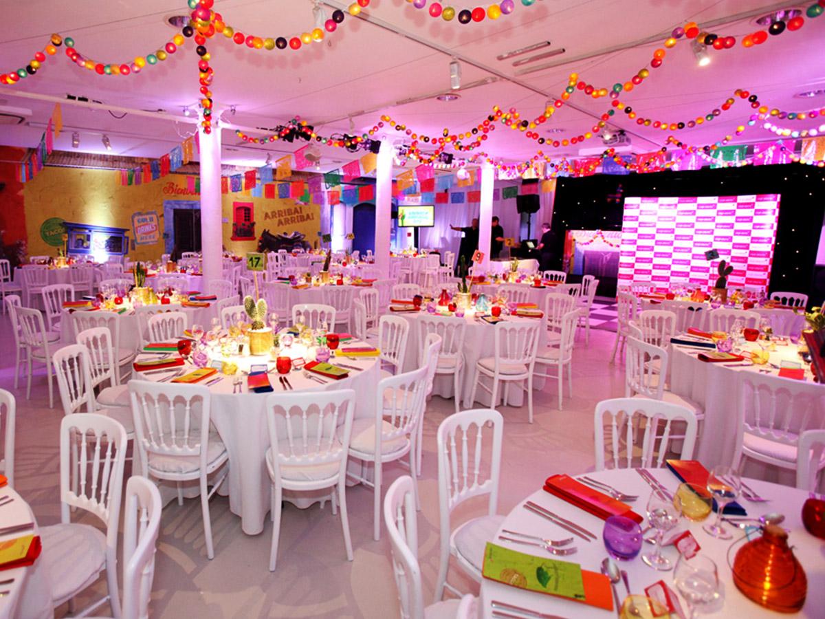 Themed event venue dressing case study bigstuff for Award ceremony decoration ideas