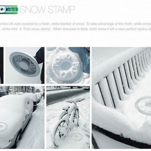 Polo Snow Stamp – how cool is this!