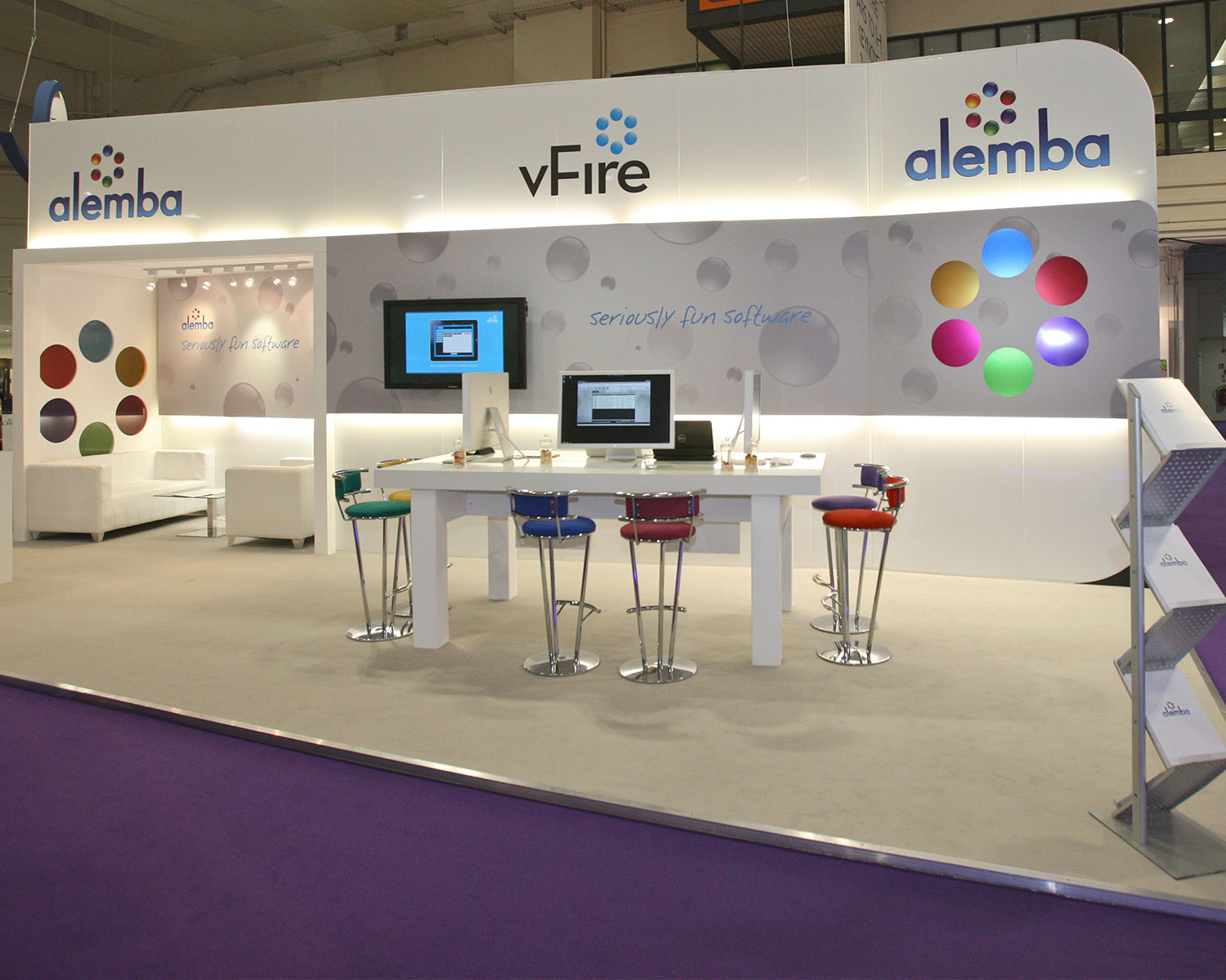 Alemba Custom Built Exhibition Stand