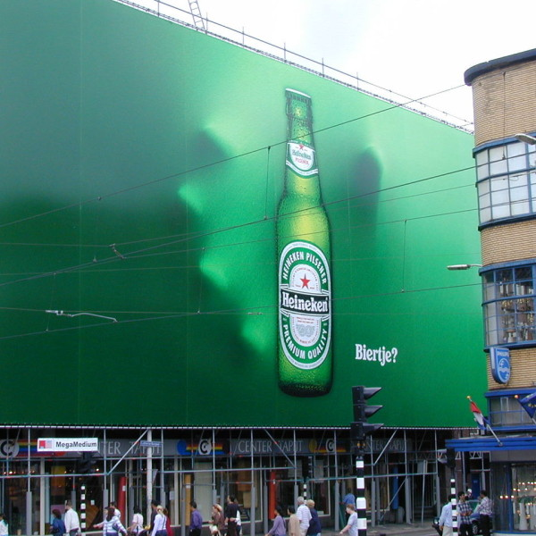 An old one, but easy and super innovative from Heineken. Is it beer o'clock yet?