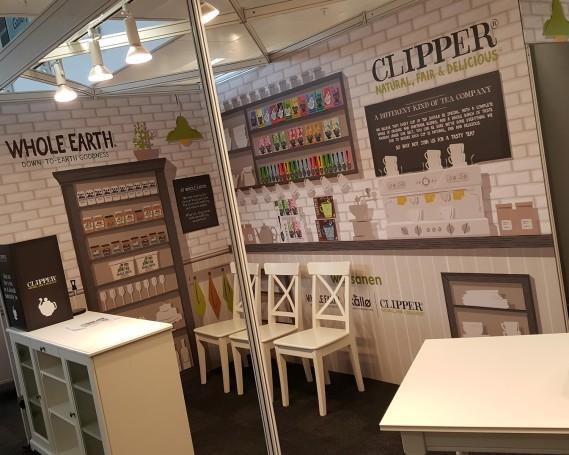 Exhibition Stand Shell Scheme Kitchen Design for Clipper