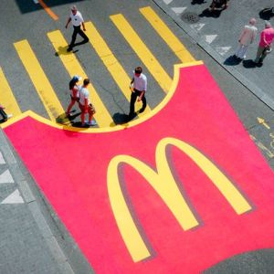 McDonalds 'Fries' Crossing