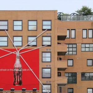 Some refreshing creativity from Coca-Cola.
