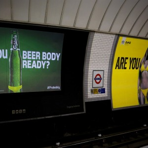 Fake probably, but we love Carlsberg. And 'Hell yeah! – We're Beer Body ready'