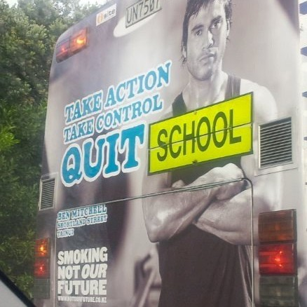 Great initiative, shocking placement…