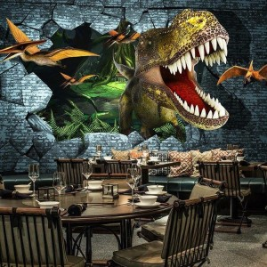 Dinosaur Wall Graphic – Ask us to do something like this.