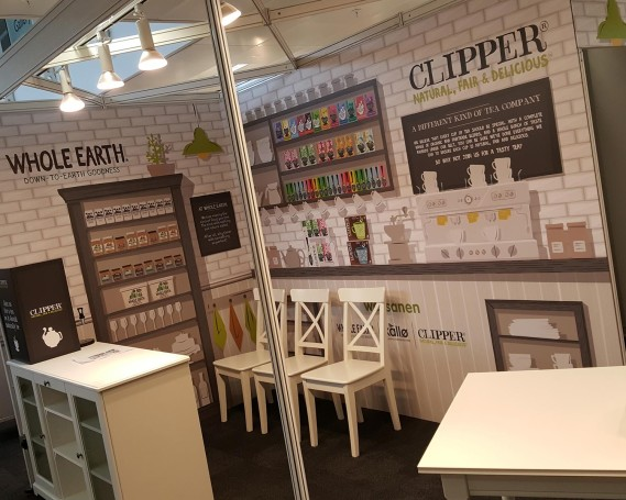 Exhibition Stand Shell Scheme Kitchen Design for Clipper