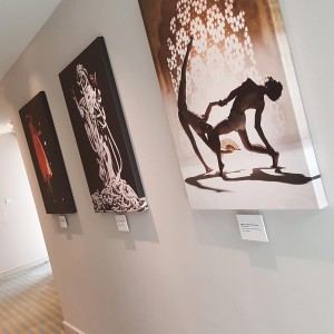 Canvas Prints of Exhibition of Artists for The Point at Eastleigh