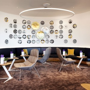 Interior Decoration for Virgin Lounge