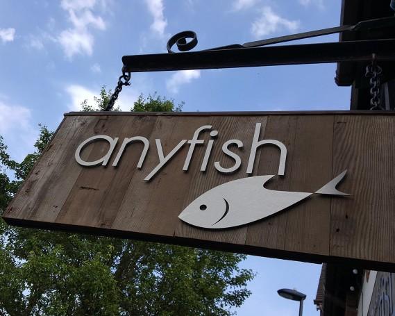 Anyfish Fishmonger – New Shop Front Signage