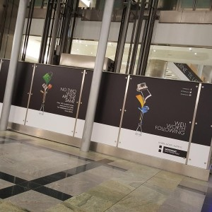 West Quay Shopping Mall Signage