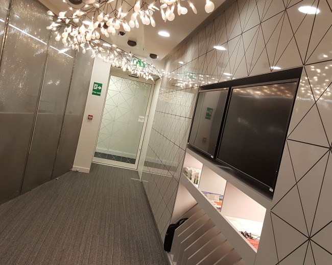 Virgin Atlantic Airways Gatehouse Interior Design and Transformation