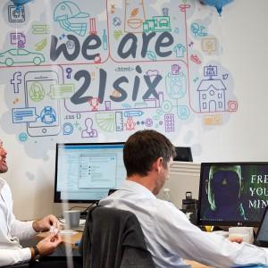 Inspirational workspace branding – Hampshire