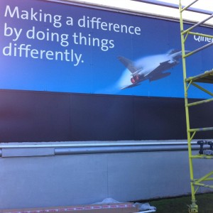 Qinetiq old 48 sheet billboard