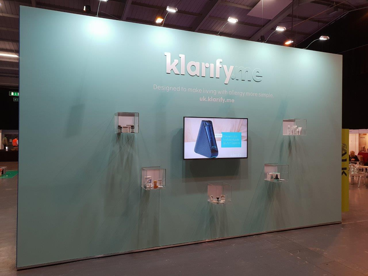 Simple Exhibition Stand Years : Exhibition stands